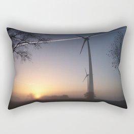 Airlines in Sunrise Rectangular Pillow