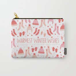 Warmest Winter Wishes Carry-All Pouch
