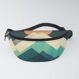 Ablaze on cold mountain Fanny Pack