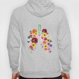 Floral Lungs Hoody