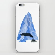 The Living Iceberg iPhone & iPod Skin