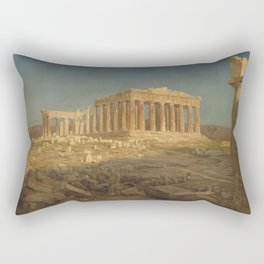 The Parthenon by Frederic Edwin Church Rectangular Pillow