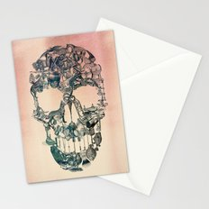 Skull Vintage Stationery Cards
