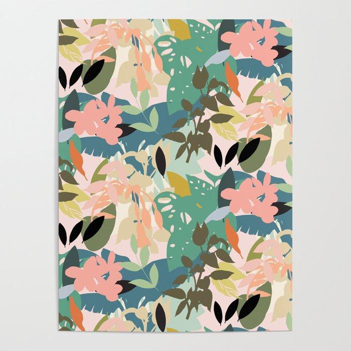 Tropicana Pastel Poster