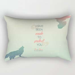 Six of Crows - I have been made to protect you Rectangular Pillow