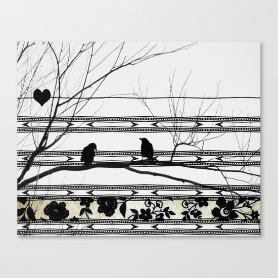 Thinking About It Canvas Print
