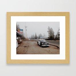 Kerby, Oregon Framed Art Print