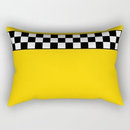 NY Taxi Cab Cosplay Rectangular Pillow