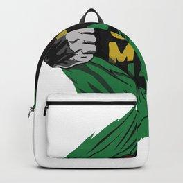 Rasta T-Shirt Jah Man Backpack