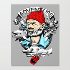Adventure with Dynamite Canvas Print