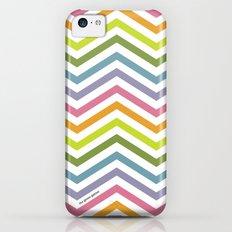 Rainbow chevrons Slim Case iPhone 5c
