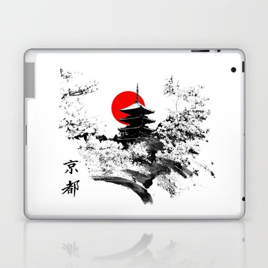Kyoto - Japan Laptop & iPad Skin