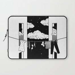 Thinking about you Laptop Sleeve