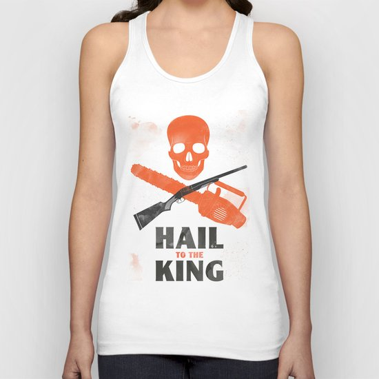 Hail to the King! Unisex Tank Top