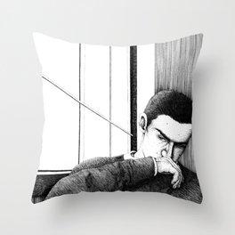 Study of Ronan Lynch Throw Pillow