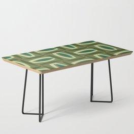 Alcedo - Green Coffee Table