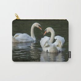 SWANS IN LOVE Carry-All Pouch