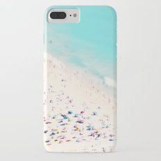 beach love III square iPhone 7 Plus Slim Case