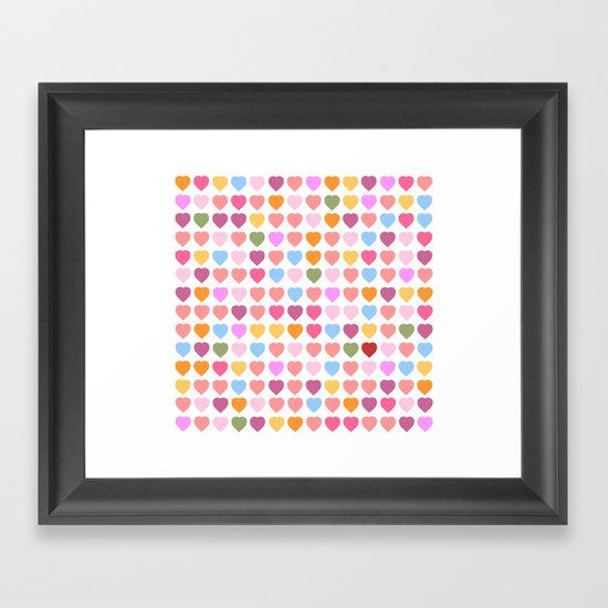 And, I found YOU! Framed Art Print