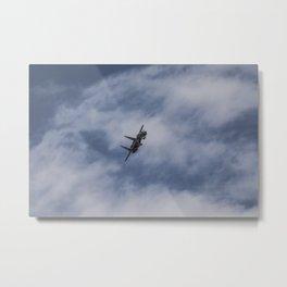 F15 Eagle Aircraft Metal Print