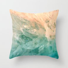 Solar Crystals Throw Pillow