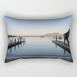 Sunset at Lake Taupo Rectangular Pillow