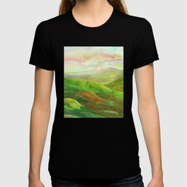 Lines in the mountains XVI T-shirt