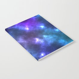 Blue Galaxy Notebook