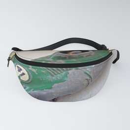 Small Green Racing Car Fanny Pack