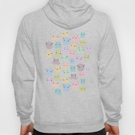 Colourful dumbo octopus pattern Hoody