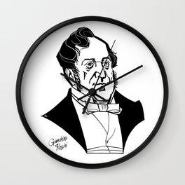 Gioachino Rossini Wall Clock