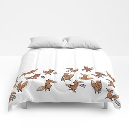Lots of Freddy Foxes Comforters
