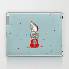 Unicorn Gumball Poop Laptop & iPad Skin