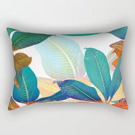 color leaves Rectangular Pillow