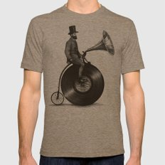 Music Man Tri-Coffee MEDIUM Mens Fitted Tee