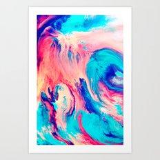 Spill Art Print