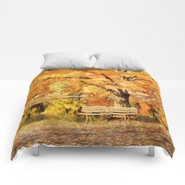 Autumn Solitude Comforters
