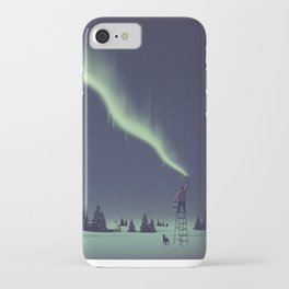 Winter Painting iPhone Case