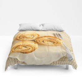 Fresh baked cruffins Comforters