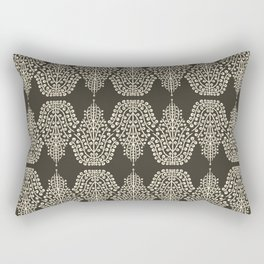 SPIRIT LINEAR truffle magnolia Rectangular Pillow