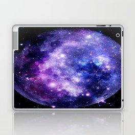 Galaxy Planet Purple Blue Space Laptop & iPad Skin