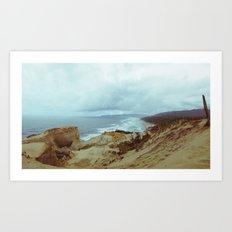 Distant Cape Lookout Art Print