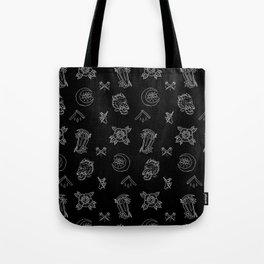 Dark N' Old School Tote Bag