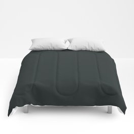 Charleston Green - solid color Comforters