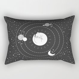 The Space Cat Rectangular Pillow