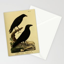 Crow And Raven Stationery Cards