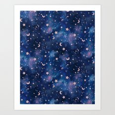 Zodiac - Watercolor Art Print