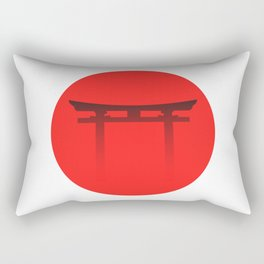 Torii Gate Rectangular Pillow