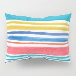 Sunny Day Stripes Pillow Sham