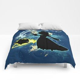 Super Smash Bros. Rosalina Silhouette Comforters